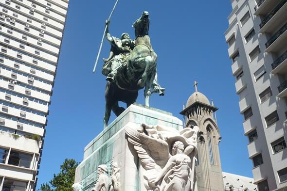 Monumento a El Gaucho