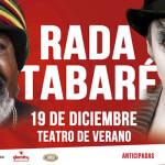 Ruben Rada y Tabare Cardozo en el Teatro de Verano