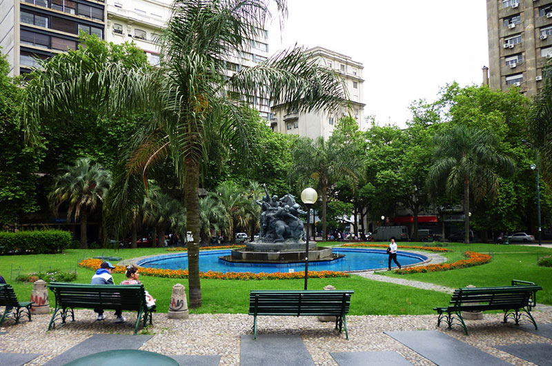 Plaza del Entrevero